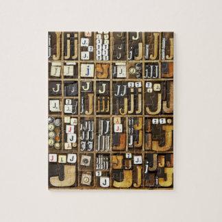 Letter J Jigsaw Puzzle