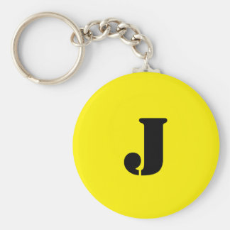 Letter J Key Chain
