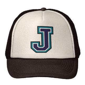 "Letter ""J"" Monogram Cap"