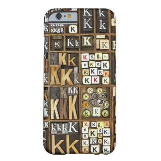 Letter K Barely There iPhone 6 Case