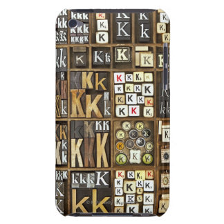 Letter K Barely There iPod Case