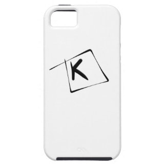 Letter K by Pablo A. Cuadra Case For The iPhone 5