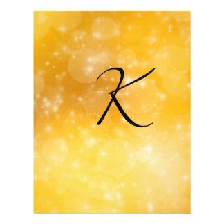 Letter K 21.5 Cm X 28 Cm Flyer