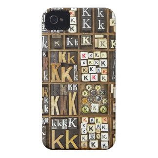 Letter K iPhone 4 Covers