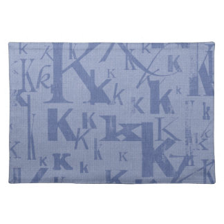 Letter K Placemat