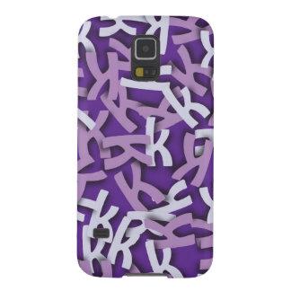 Letter K Purple Galaxy Nexus Cover