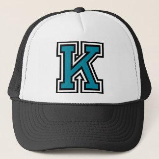 """Letter """"K"""" Trucker Hat"""