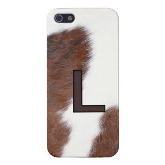 Letter L Brand Cowhide Livestock Iphone 5 Case