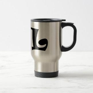 Letter L_large Travel Mug