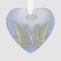 Letter M Angel Monogram