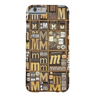 Letter M Barely There iPhone 6 Case