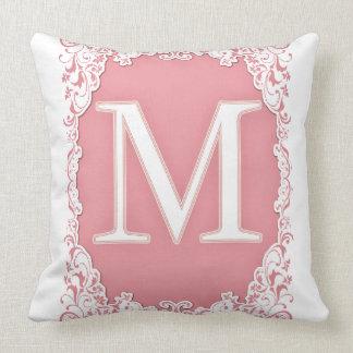 Letter M Cushion