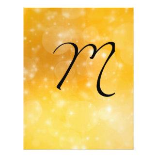 Letter M 21.5 Cm X 28 Cm Flyer