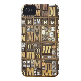 Letter M iPhone 4 Cover