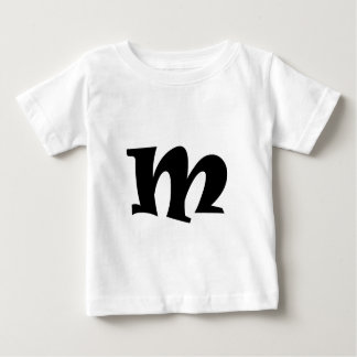Letter M_large Baby T-Shirt