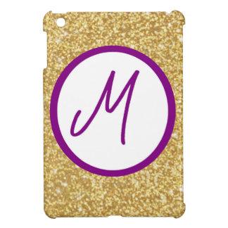 Letter M Monogram iPad Mini Case