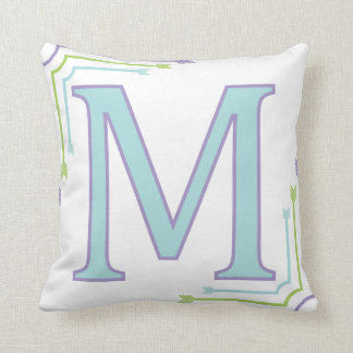 Letter m cushions letter m scatter cushions zazzlecouk for Letter m cushion