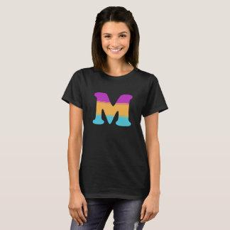 Letter M Sunrise T-Shirt