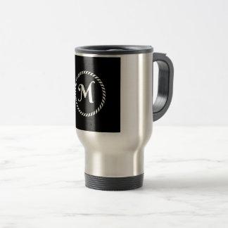 Letter M Travel Mug