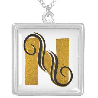 Letter N - Necklace