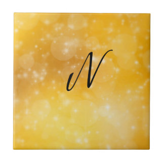 Letter N Ceramic Tiles
