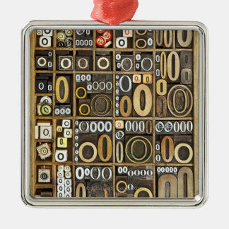Letter O Christmas Ornament