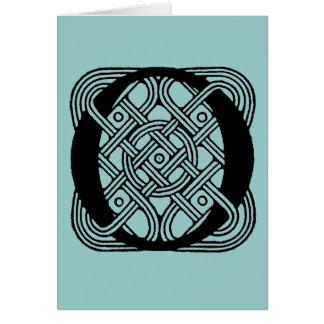 Letter O Vintage Celtic Knot Monogram Cards