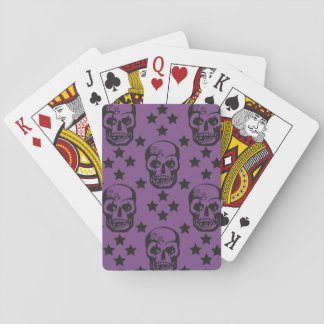 Letter of Skulls Playing Cards