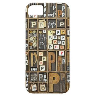 Letter P iPhone 5 Case