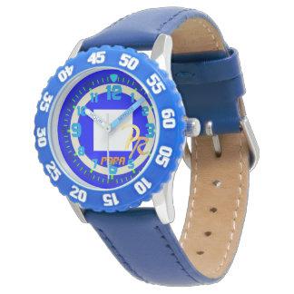 Letter P Papa Sailing Flag Watersports Kids' Wristwatch