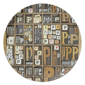 Letter P Plate