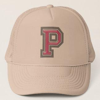 """Letter """"P"""" Trucker Hat"""