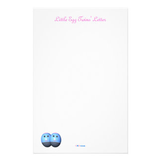 Letter Paper for Twin Girls
