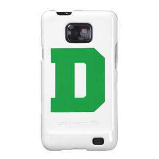 Letter Pride D Green.png Samsung Galaxy S2 Cover