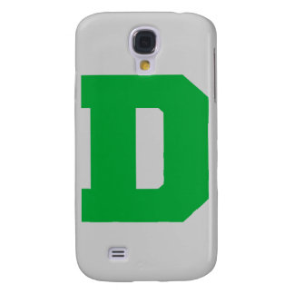Letter Pride D Green.png Samsung Galaxy S4 Cover