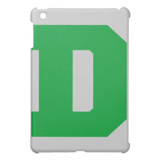Letter Pride D Green.png iPad Mini Covers