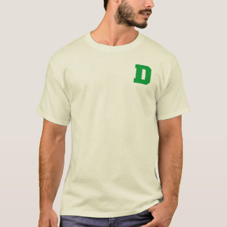 Letter Pride D Green.png T-Shirt