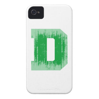 LETTER PRIDE D GREEN VINTAGE.png iPhone 4 Cover