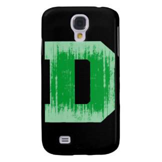 LETTER PRIDE D GREEN VINTAGE png Samsung Galaxy S4 Covers