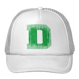 LETTER PRIDE D GREEN VINTAGE.png Hat