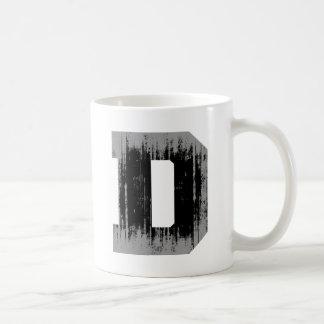 LETTER PRIDE D VINTAGE.png Basic White Mug