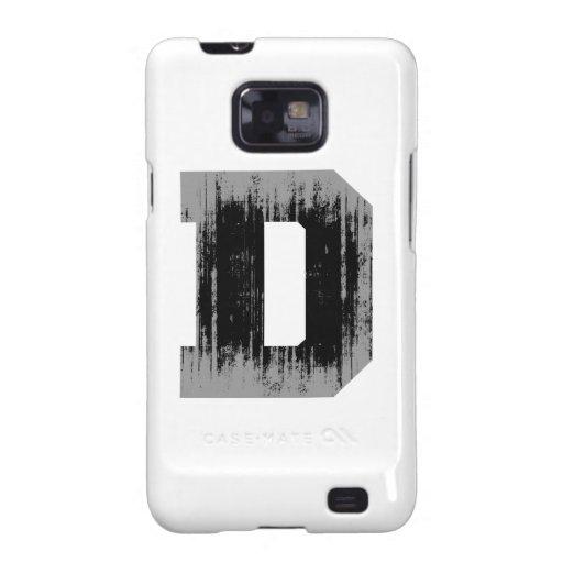 LETTER PRIDE D VINTAGE.png Samsung Galaxy S Case