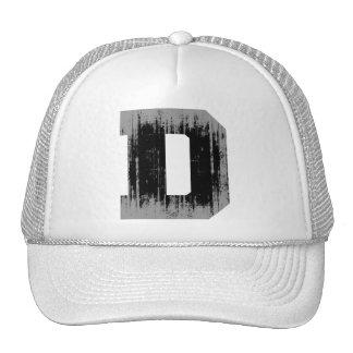 LETTER PRIDE D VINTAGE.png Trucker Hats