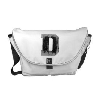 LETTER PRIDE D VINTAGE.png Messenger Bag