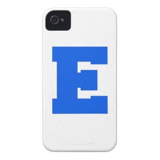 Letter Pride E Blue png Blackberry Case