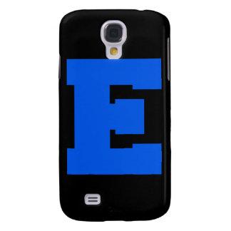 Letter Pride E Blue png Galaxy S4 Cover