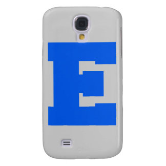 Letter Pride E Blue png Samsung Galaxy S4 Cases