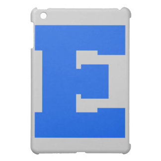 Letter Pride E Blue png iPad Mini Cover