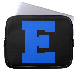 Letter Pride E Blue png Laptop Computer Sleeve