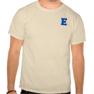 Letter Pride E Blue.png T Shirts